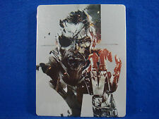 Metal Gear Solid V 5 The Phantom Pain Steelbook PS3 PS4 XBOX ONE (NO GAME DISC)