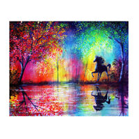 5D DIY Diamond Painting Sky Horse Cross Stitch Embroidery Rhinestones Kits #gib