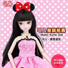 Pretty Elegance Pink Dance With Two Dress Doll Kurhn Chinese Barbie Doll Figure