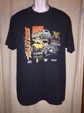 1990 Vintage Street Masters rod and custom Roundup T-shirt Oline New York L/XL