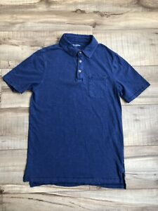Goodfellow & Co Polo Shirt Size Adult Small Blue Men's Casual Lightweight
