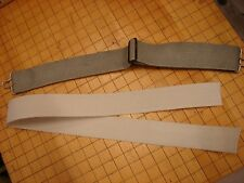 Original WW2 US Aviation AN6530 Goggle Replacement Elastic Strapping-White Color