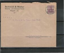 Echte BPP-Signatur Briefmarken aus dem deutschen Reich mit Bedarfsbrief