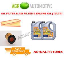 PETROL OIL AIR FILTER + LL 5W30 OIL FOR MERCEDES-BENZ E500 5.0 306 BHP 2002-05