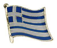Greece Flag Badge Pin Greek Enamel Lapel Hellas