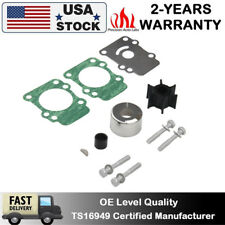 Outboard Water Pump Impeller Kit For Yamaha 9.9HP 15HP 682-W0078-A1-00 18-3148