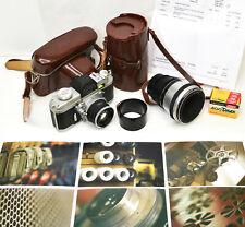 ALPA REFLEX Mod 8 Vintage SLR 35mm Film Camera 50mm Switar + 90mm Makro Killar