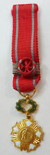 Médaille MINIATURE Grand Officier PATRIE ART HUMANISME CIVISME France ORIGINAL