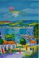 Picot Jean-Claude: Marseille Privacy - Lithography Original Signed 600ex