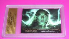 THE LORD OF THE RINGS GALADRIEL'S TEMPTATION # 45 CARD TOPPS SIGNED AUTHENTIC