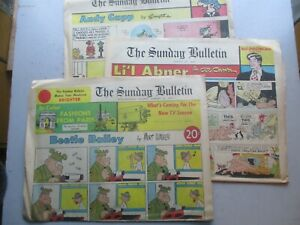 Philadelphia Bulletin Sunday Newspaper Comics 8/27/1967 Complete, 12 Pages