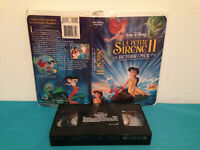 Little mermaid II / La petite sirene II VHS tape & clamshell  FRENCH