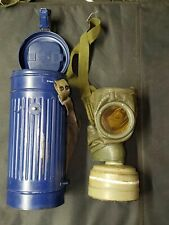 WWII German Gas Mask in Post War Cannister