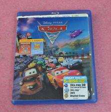 Disney Pixar Cars 2 Five-Disc Combo: Blu-ray 3D/Blu-ray/DVD + Digital Copy.