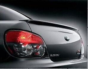 FOR 2002-2007 Subaru WRX STI LIMITED Sdn Un-Painted-Primer Factory Rear Spoiler