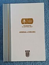 2017 - HARDBACK FA CUP FINAL PROGRAMME - ARSENAL v CHELSEA - LTD EDITION OF 450