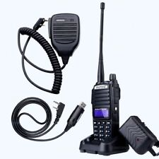 BaoFeng UV-82 Tri-Power 8W 4W 1W Dual-Band Two Way Radio Walkie Talkie Mic/Cable