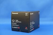 Panasonic LUMIX G X Vario 12-35mm f/2.8 II H-HSA12035 Zoom Lens Japan Model NEW