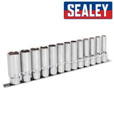 Sealey AK2745 Oscuro Enchufes con Atornillables™ Tecnología 1.3cm Dr. 10mm-24mm