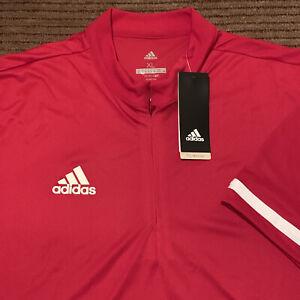NEW Men's ADIDAS Collarless Golf Polo Shirt Sz XL