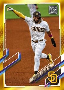 2021 Topps MLB FERNANDO TATIS JR. - Digital NFT Card - Gold Mint #876/881 RARE!