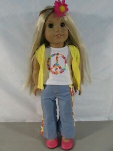 American Girl Julie Albright Doll w/ Meet Outfit