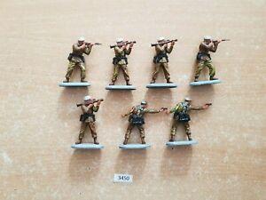Britains Superdeetail Modern British SAS Soldiers 7 figures  (lot 3450)