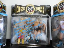 WWE Jakks Classic Superstars Hulk Hogan vs Andre The Giant AUTOGRAPHED WM3