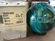 NEW 15lb Track 505C Bowling Ball 384B NOS Rare Gem