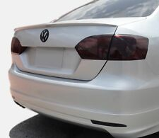VW Jetta smoked tinted tail light & rear reflector covers vinyl 11-14 tint smoke