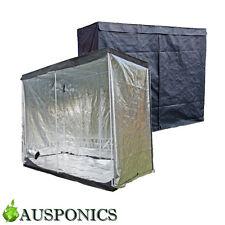 Growlush Indoor Grow Light Tent Aluminum Box Room Hydroponics 3x3x2m Ventilation