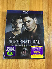 Supernatural Complete Seventh Seven 7 7th Season - Blu-Ray NEW!