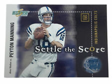 2001 Score Select - Settle the Score #SS7 Peyton Manning / Drew Bledsoe