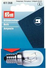 Glühbirne für Nähmaschinen Glühlampe Prym 611358 Schraub - Fassung