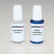 Lackstift für BMW A30 INTERLAGOS BLAU 20ml + 20ml Klarlack