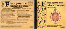CD FLORA GAVE ME FAIREST FLOWERS ENGLISH MADRIGALS CAMBRIDGE SINGERS RUTTER