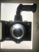 RARE! CONTAX PREVIEW CAMERA POLAROID FILM BACK NIKON F MOUNT ALL WORKS JP USED