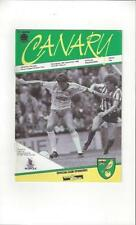 Norwich City Division 2 Home Teams L-N Football Programmes