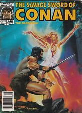 1987 Marvel Comic Book Magazine Stan Lee The Savage Sword of Conan #140