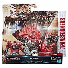 NEW Transformers The Last Knight 1 Step Turbo Charger SCORN Spinosaurus Dinosaur