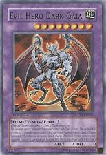 YUGIOH Evil Hero Dark Gaia Deck + Dark World & More Complete 40 - Cards + Extra