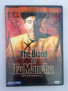The Blood Of Fu Manchu [DVD, 1968] Blue Underground With Insert 2003 Jess Franco
