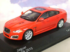 Jaguar XFR 2010 Red 1 of 1000 1/43 Scale Diecast Model WhiteBox