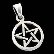 Pentagramm sehr klein schmuck Anhänger 925er Silber