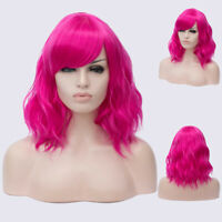 Halloween Party Dress Long Curly Full Wig Cosplay Costume Hair Decor Q