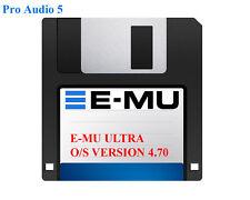 EMU version du système d'exploitation 4.70 fourni sur disquette-E-mu ULTRA EOS uk