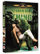 SWAMP THING WES CRAVEN LOUIS JORDAN ADRIENNE BARBEAU MGM UK REGION 2 DVD L NEW