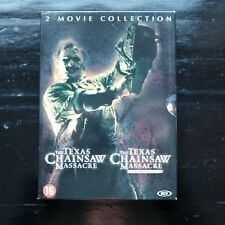 THE TEXAS CHAINSAW MASSACRE & THE TEXAS CHAINSAW MASSACRE BEGINNING - 2 DVD-BOX