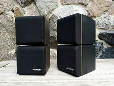 2x Bose Doppelcube Acoustimass Lautsprecher Satelliten Cube Lifestyle Redline