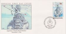 W26 4-3 Islas Marshall FDC Cubierta 1994 1941 ataque japonés Pearl Harbor